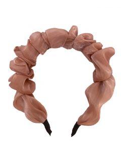 JA•NI hair Accessories - Headband, The Pink Wavy Silk