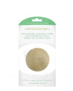 Premium Facial Puff Konjac Svamp med grønt ler