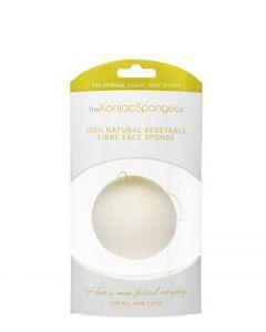 Premium Facial Puff Konjac Sponge White 100% Pure