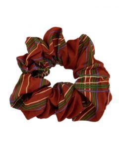 JA•NI hair Accessories - Hair Scrunchie, The Red Checkered