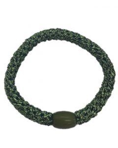 JA•NI Hair Accessories - Hair elastics, The Green Glitter