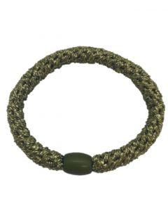JA•NI Hair Accessories - Hair elastics, The Army Glitter