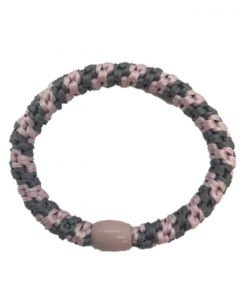 JA•NI Hair Accessories - Hair elastics, The Baby Pink & Grey