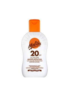 Malibu Protective Sun Lotion SPF20, 100 ml.