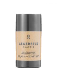 Karl Lagerfield Classic Deodorant stick, 75 ml.